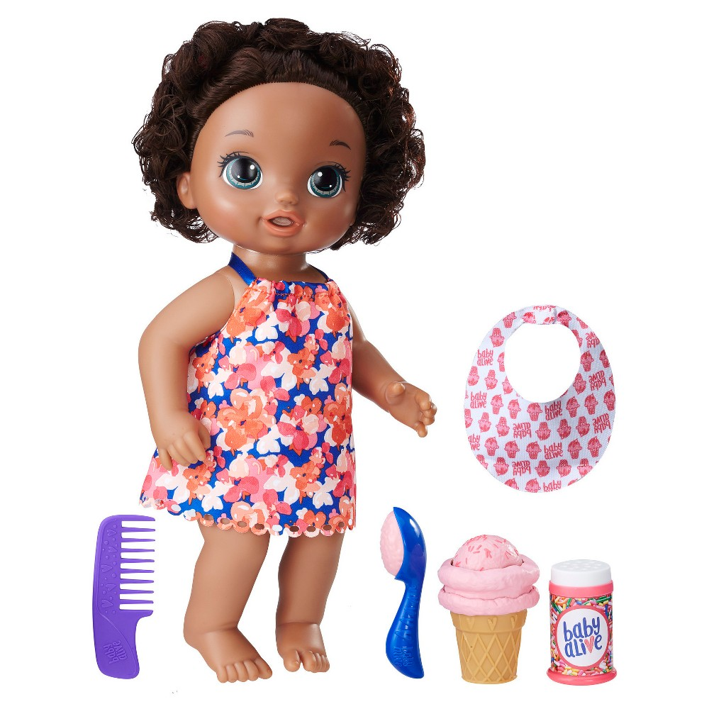 Baby Alive Magical Scoops Baby - African American