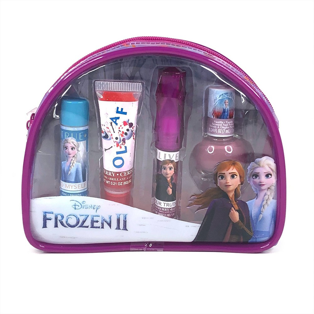 Image of Frozen Cosmetic Beauty Pouch Set - 0.56oz