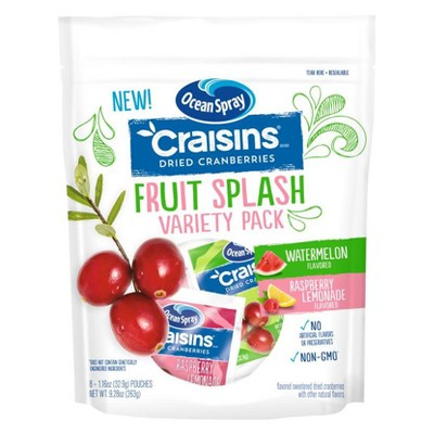 Dried Fruit & Raisins: Ocean Spray Fruit Splash