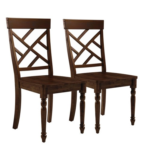 Westport Dining Chair (Set of 2) Brown - Abbyson Living - image 1 of 1