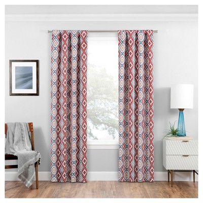 Morrow Rod Pocket Thermaweave Blackout Curtain Panel - Eclipse
