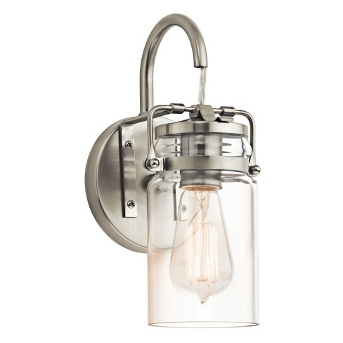 """Kichler 45576 Brinley Single Light 12"""" Tall Wall Sconce - image 1 of 3"""