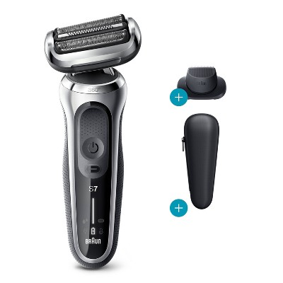 Braun Series 7 Flex Men's Rechargeable Wet & Dry Cordless Electric Foil Shaver 7020s