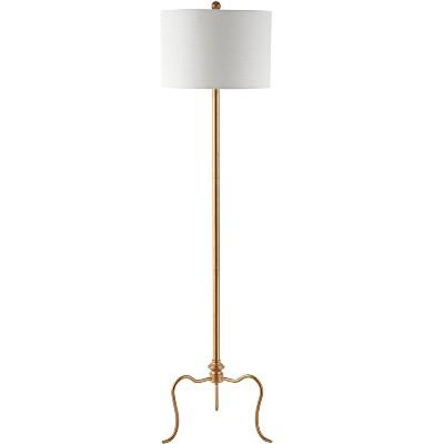 Earie Floor Lamp - Antique Gold - Safavieh
