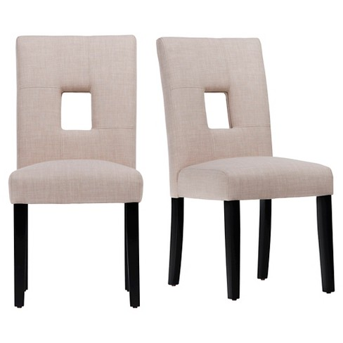 Phelan Keyhole Dining Chair (Set of 2) - Inspire Q - image 1 of 5