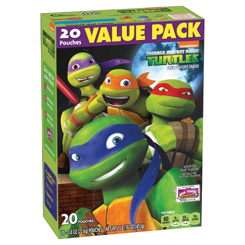 Betty Crocker® Fruit Snacks Teenage Mutant Ninja Turtles® - 20ct/16 oz - image 1 of 1