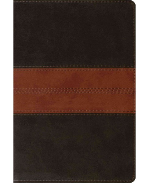 Holy Bible : English Standard Version, Trutone, Deep Brown/Tan, Trail, Personal Reference -  (Hardcover) - image 1 of 1