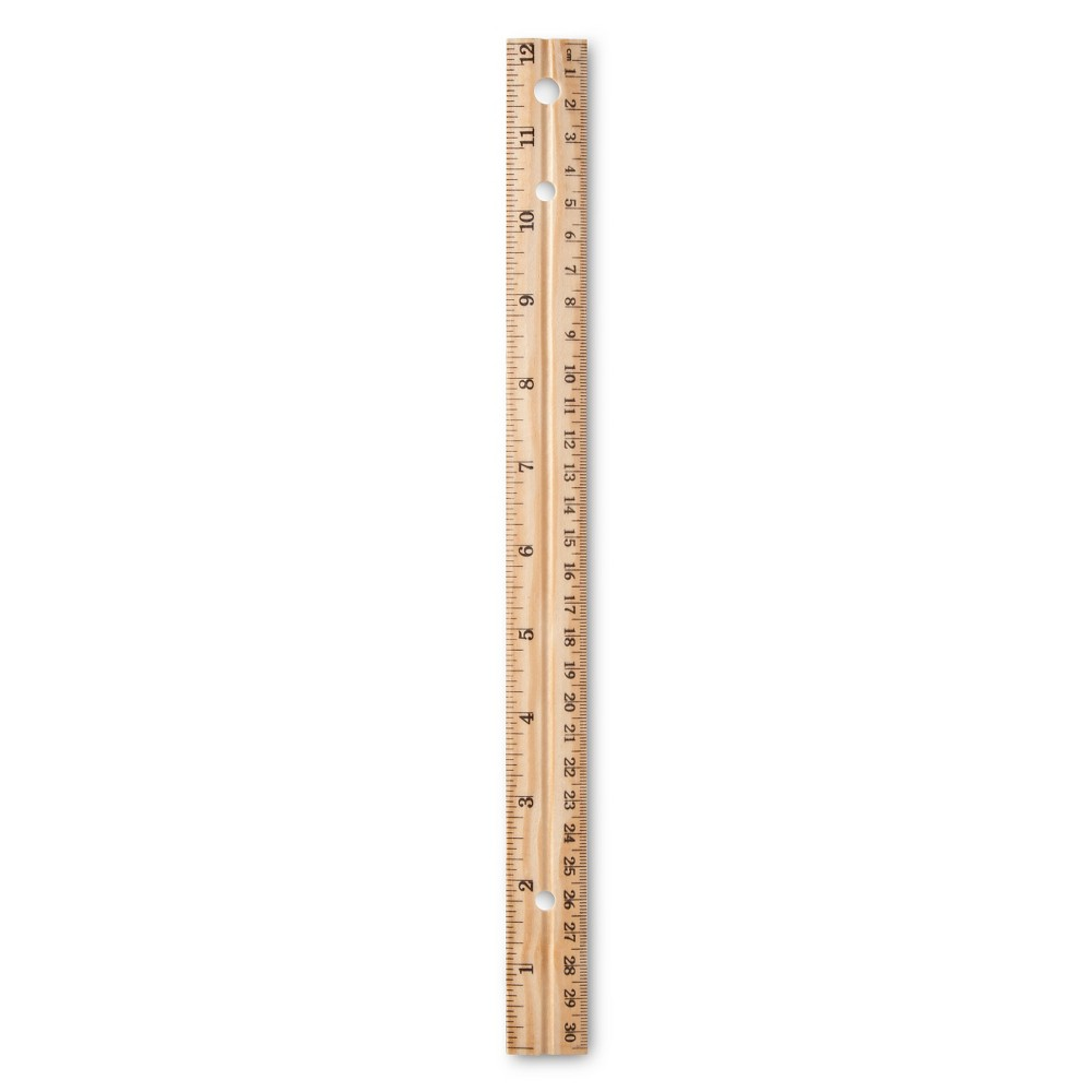 12 Wood Ruler - Up&Up was $0.49 now $0.25 (49.0% off)