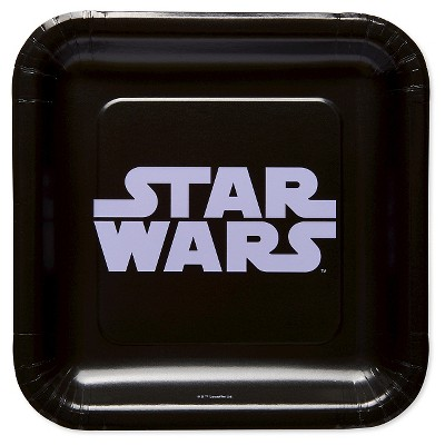 """7"""" 8ct Star Wars Party Plates"""