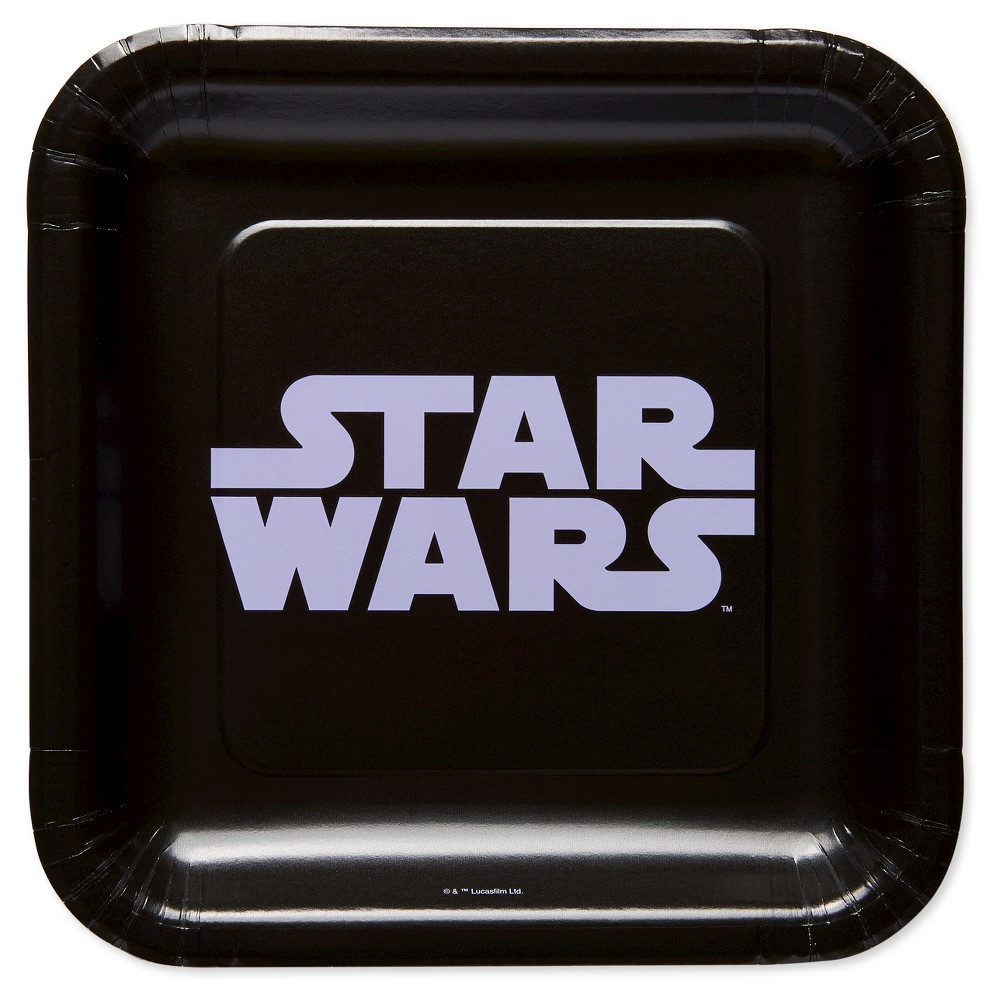 """Image of """"Classic Star Wars 7"""""""" Paper Plates - 8ct"""""""