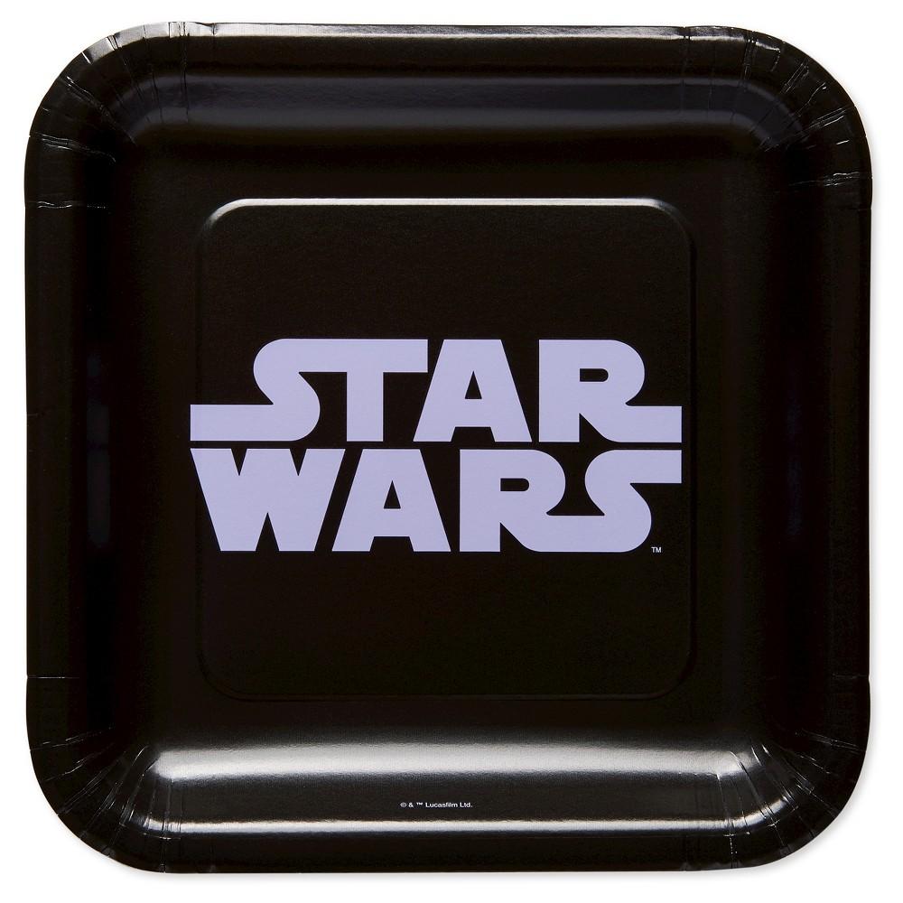 Classic Star Wars 7 Paper Plates - 8ct