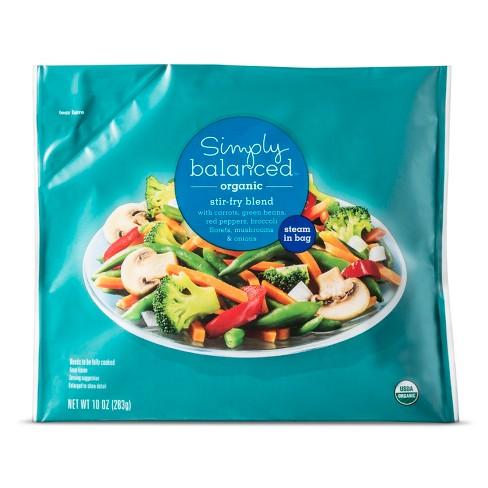 Organic Frozen Stir-Fry Blend - 10oz - Simply Balanced™ - image 1 of 1