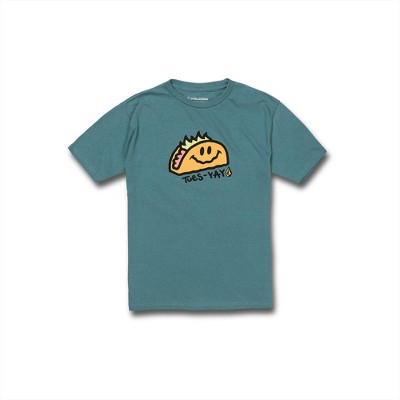 Volcom Boys Tues Yay Graphic Short Sleeve Tee