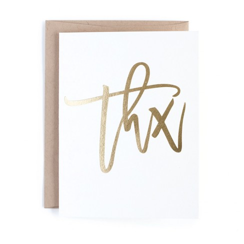 10ct Thank You Cards - Minted - image 1 of 2