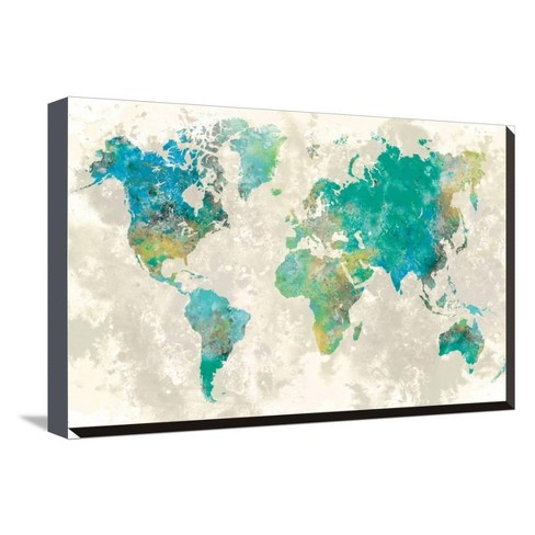 No Borders by Fontaine Stephane Stretched Canvas Print - Art.com - image 1 of 4