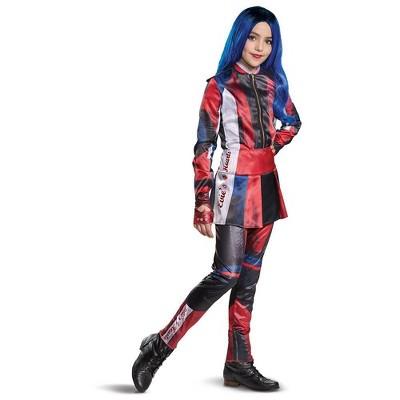Kids' Deluxe Disney Descendants Evie Halloween Costume Jumpsuit