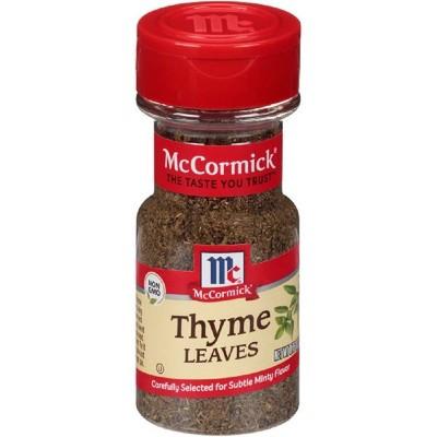 McCormick Thyme Leaves Whole - 0.75oz