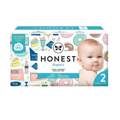 The Honest Company Donut Grow Up & Honest Drive-In Disposable Diapers - Size 2 - 76ct