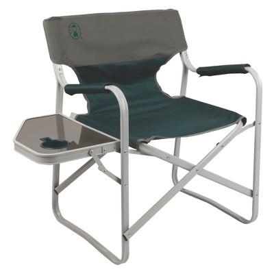Coleman Outpost Elite Deck Chair   Green