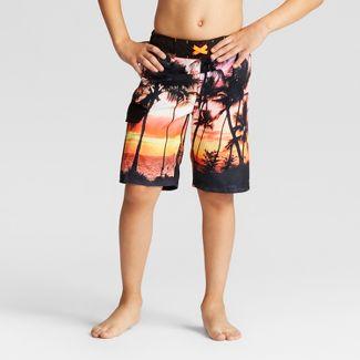 076500c3f3 Boys' Palm Breeze Swim Trunks - Cat & Jack™ ...