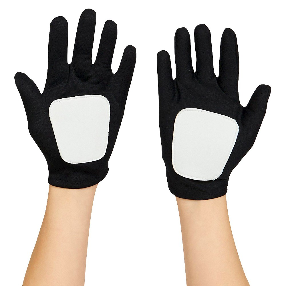 Kids' Star Wars Clone Wars Clonetrooper/Obi-Wan Gloves One Size Fits Most, Kids Unisex, Black/White