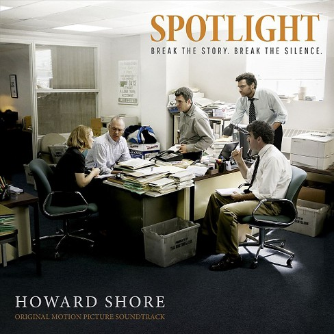 Howard shore - Spotlight (Ost) (CD) - image 1 of 1