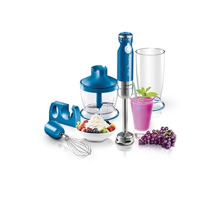 Sencor 6-Speed Stick Blender with Accessories - Blue