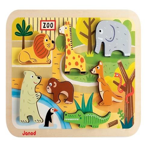 Janod Zoo Chunky Puzzle - image 1 of 4