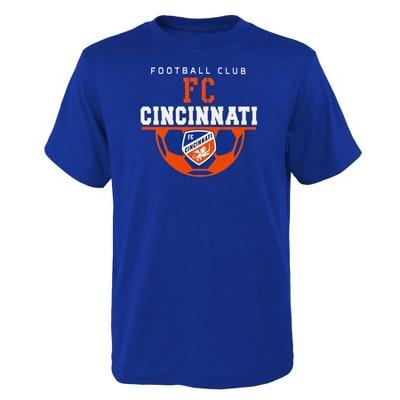 MLS FC Cincinnati  Boys' Short Sleeve Core T-Shirt