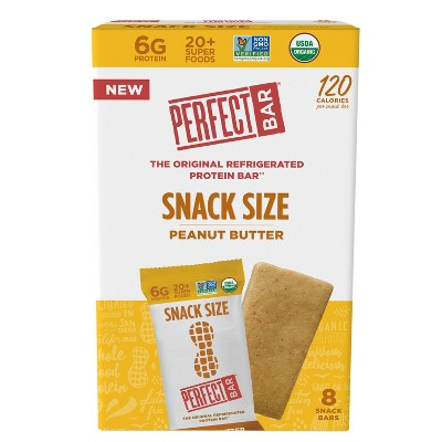 Perfect Bar Peanut Butter Snack Size Protein Bars - 7oz/8ct