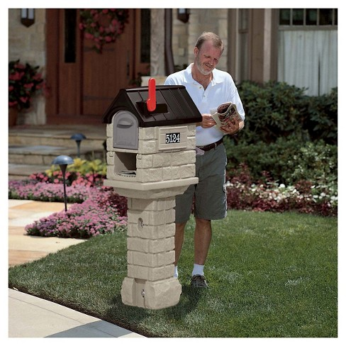 Step2 Mailmaster Stone Hill Plus Stone Black Target