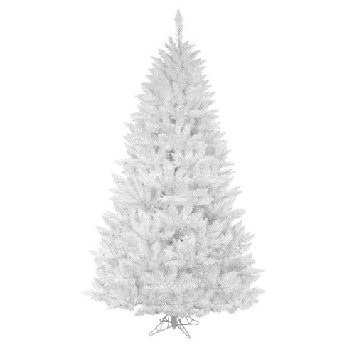 6.5 ft Unlit Sparkle White Spruce Artificial Christmas Tree - image 1 of 1