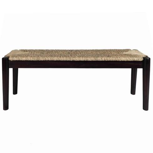 Seagrass Bench Black - Stylecraft - image 1 of 4