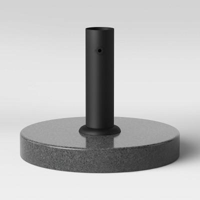 Granite Umbrella Base - Black - Threshold™