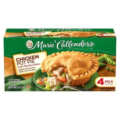 Marie Callender's Chicken Pot Pie - 4ct/10oz