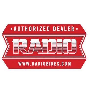 Radio Authorized Dealer Sticker Sticker/Decal