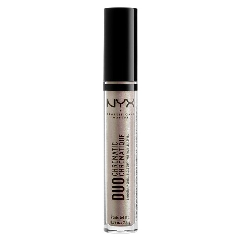 NYX Professional Makeup Duo Chromatic Lip Gloss Lucid - image 1 of 2
