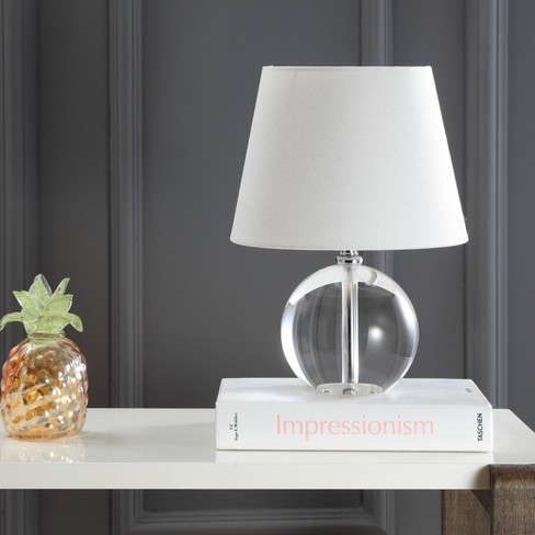 Mable 14inch H Table Lamp Clear Includes Energy Efficient Light Bulb Safavieh Target