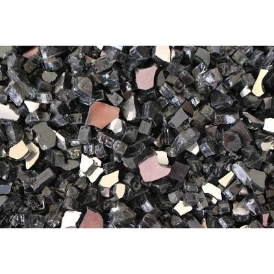 Fire Pit Fire Glass - Black - AZ Patio Heaters
