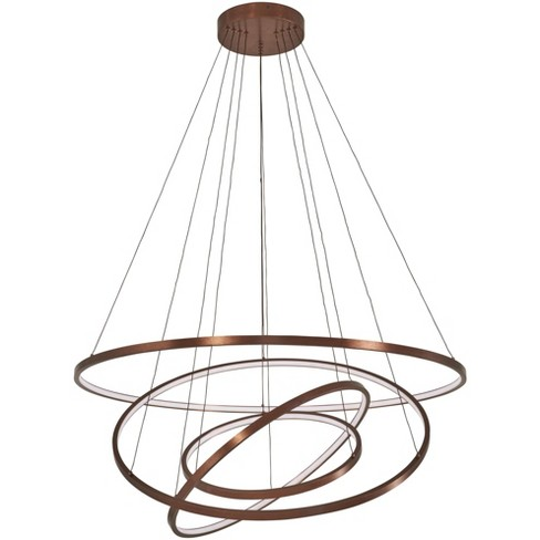 "Kovacs P8164-670-L Full Orbit 39-1/2"" Wide Integrated LED Ring Chandelier - image 1 of 1"