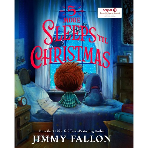 5 More Sleeps Till Christmas - Target Exclusive Edition by Jimmy Fallon (Hardcover) - image 1 of 1