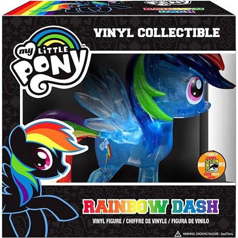 Funko My Little Pony Vinyl Collectibles Glam Rainbow Dash Vinyl Figure Crystalized Glitterized Sparkelized Target