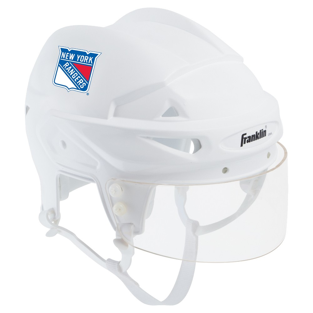 Franklin Sports NHL Team Licensed Mini Player Helmet - New York Rangers