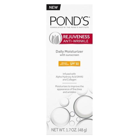 POND'S Rejuveness Anti-Wrinkle Daily Sunscreen - SPF 30 - 1.7oz - image 1 of 9
