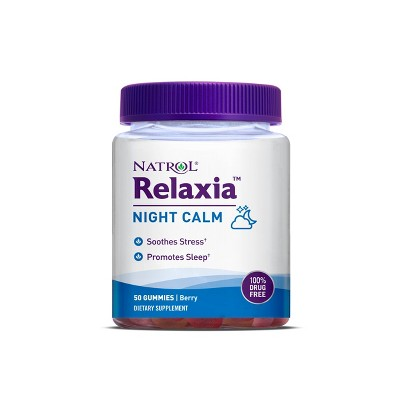 Natrol Relaxia Night Calm Gummies - Berry - 50ct