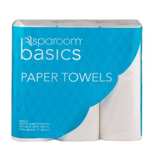 SpaRoom Basics Paper Towels - 6pk - image 1 of 4