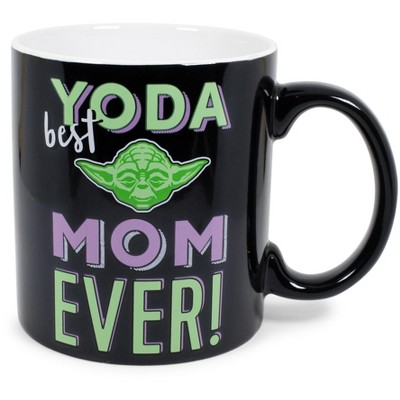"Silver Buffalo Star Wars ""Yoda Best Mom Ever"" Ceramic Mug 