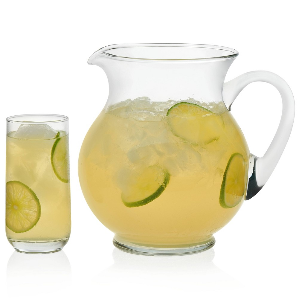 Image of Libbey 16oz Acapulco Glass Entertaining - Set of 5, Clear
