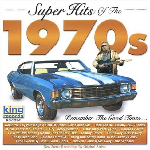 Various - Super hits of the 1970s (CD) - image 1 of 1