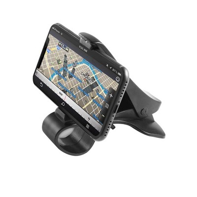 Insten Car Dash Mount Dashboard HUD Clip Phone GPS Universal Holder Stand with One-Touch Design